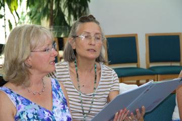 Singing together in Sacred Web