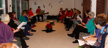 Sacred Web Singers' Winter Season Gathering, 2012
